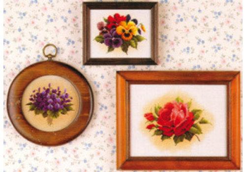 Lavender and Lace Lavender & Lace 05 - Tea garden - patroon