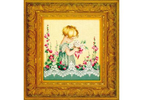Lavender and Lace Lavender & Lace 49 - Emma's garden - patroon