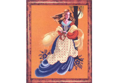 Lavender and Lace Lavender & Lace 61 - Evangeline - patroon