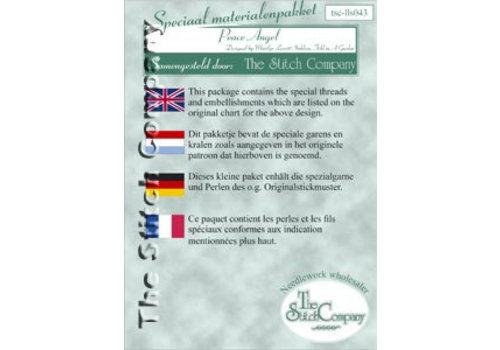 The Stitch Company Lavender & Lace 43 - Peace angel - spec. mat.
