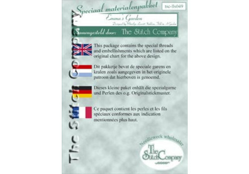 The Stitch Company Emma's garden - spec. mat.