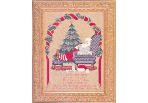 Lavender and Lace Secret Santa - patroon