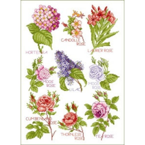 Lindner Patroon Lindner 005 - Bloemen magie