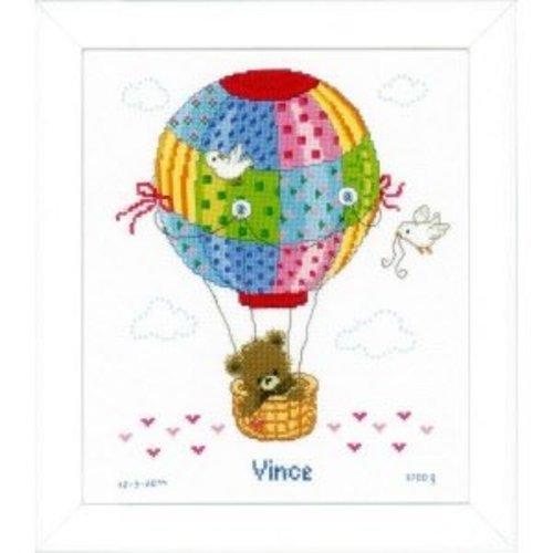 Vervaco Telpakket kit Ballonvaart