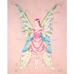 Nora Corbett Nora Corbett 001 - Fairy roses - patroon