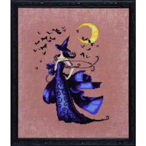 Nora Corbett Nora Corbett 222 - Bewitching Collection - Raven - patroon