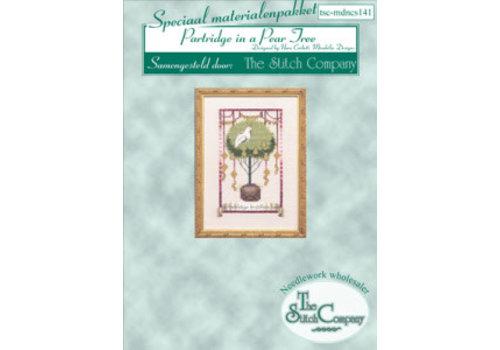 Nora Corbett 12 Days of Christmas - Partdridge in a Pear Tree - spec. mat.