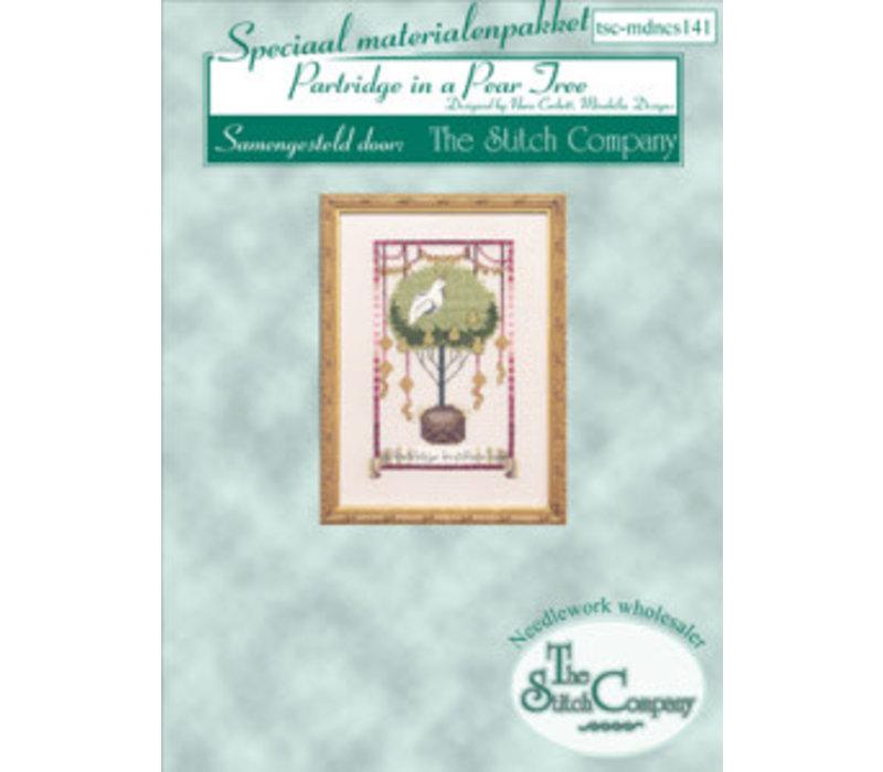 Nora Corbett 141 - 12 Days of Christmas - Partdridge in a Pear Tree - spec. mat.