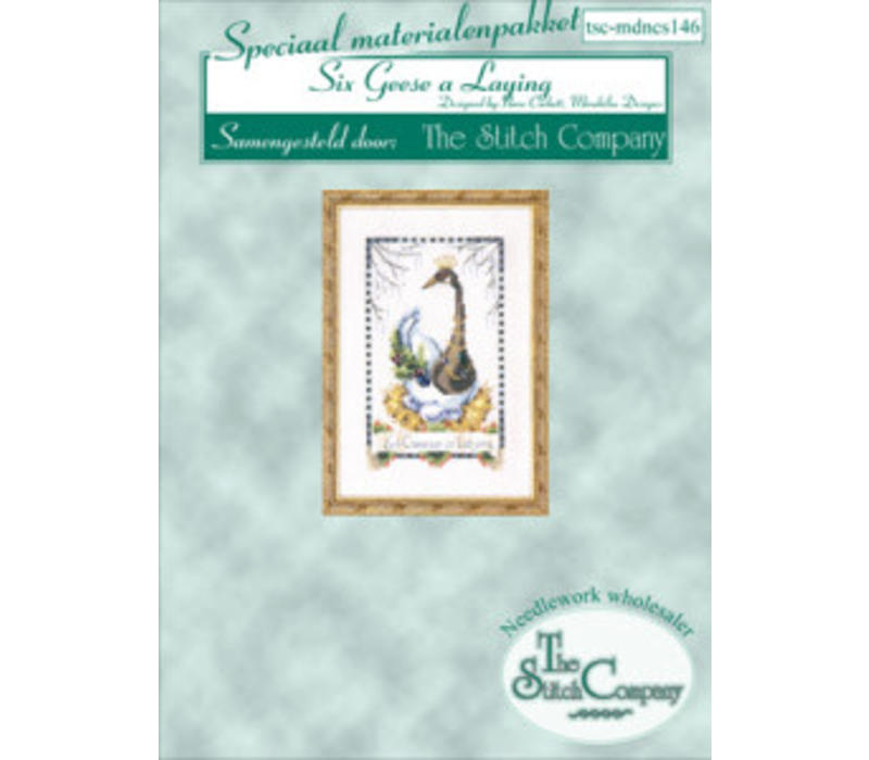 Nora Corbett 146 - 12 Days of Christmas - Six Geese a Laying - spec. mat.