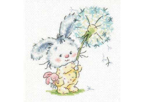 Chudo Igla Bunny and dandelion