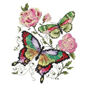 Chudo Igla Butterflies and roses