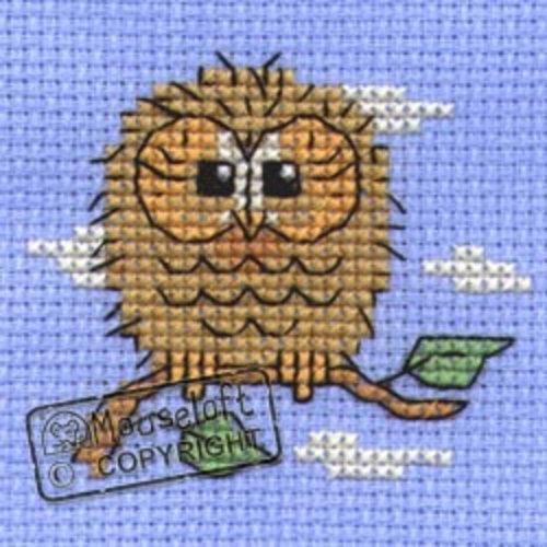 Mouseloft Borduurpakket Baby Owl - Mouseloft
