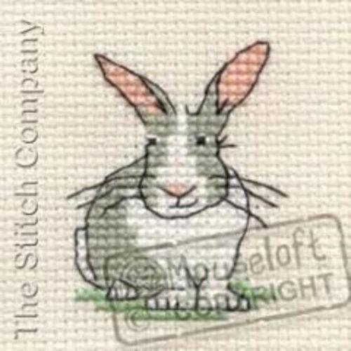 Mouseloft Borduurpakket Trevor the Rabbit - Mouseloft
