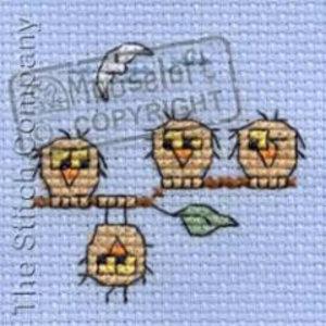 Mouseloft Borduurpakket Individu-Owl - Mouseloft