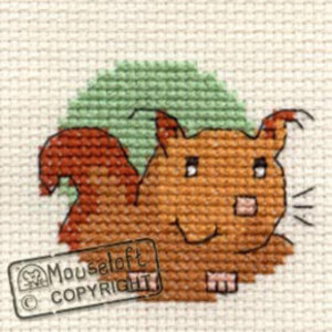 Mouseloft Borduurpakket Squirrel - Mouseloft