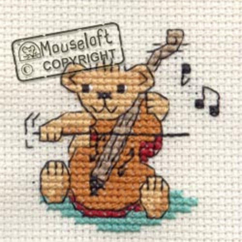 Mouseloft Borduurpakket String Quartet Teddy - Mouseloft