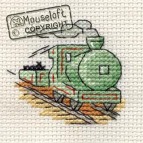 Mouseloft Borduurpakket Steam Train - Mouseloft