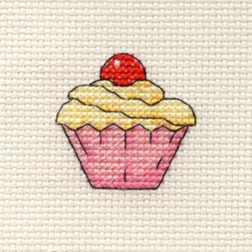 Mouseloft Borduurpakket Cupcake - Mouseloft