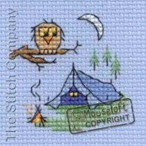 Mouseloft Borduurpakket Camping - Mouseloft