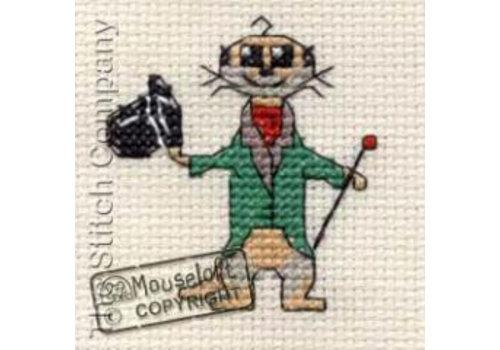 Mouseloft Borduurpakket Aristo-kat - Mouseloft