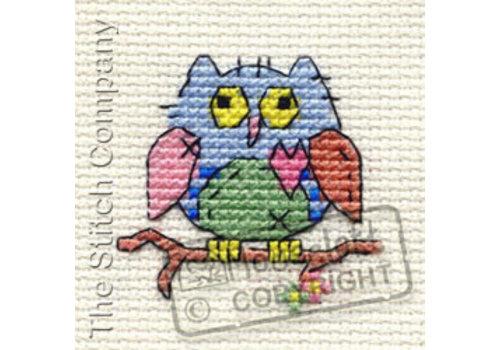 Mouseloft Borduurpakket Patchwork Owl - Mouseloft