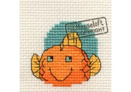 Mouseloft Borduurpakket Goldfish - Mouseloft