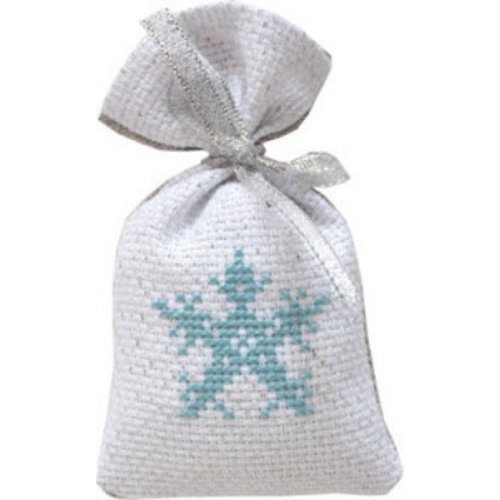 Luca-S Cross Stitch Bag - Snowflake