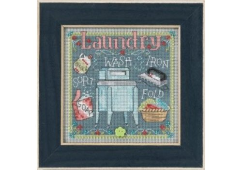 Mill Hill Buttons Beads Spring Series - Laundry