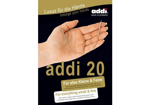 Addi Addi Rondbreinaald 20 cm - 2 mm