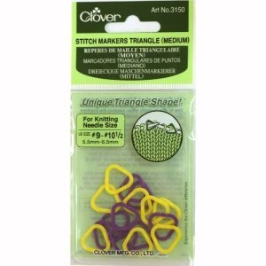 Clover Steekmarkeerders - Stitch Markers Triangel (medium)
