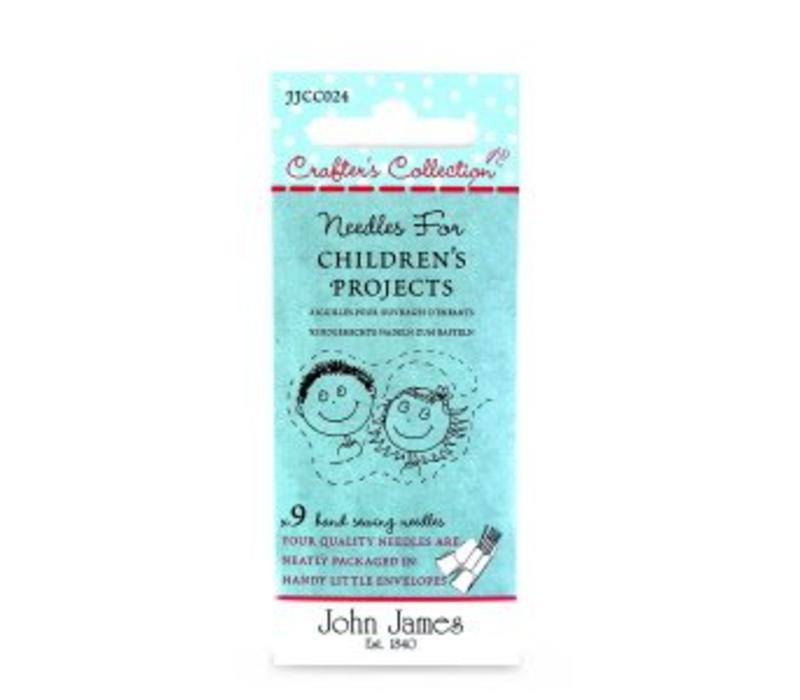 John James - Set kindernaalden (3 soorten)