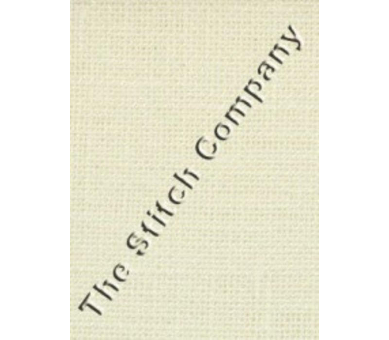 30 count linnen, antique white