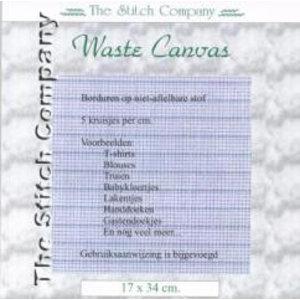 The Stitch Company Waste Canvas 17x34 cm