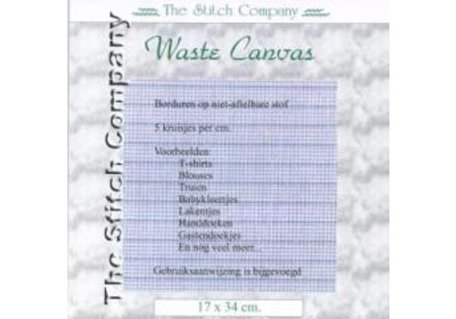 The Stitch Company Waste Canvas 17x34 cm