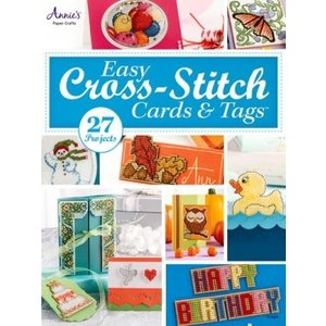 Easy cross-stitch cards & tags (perforated paper)
