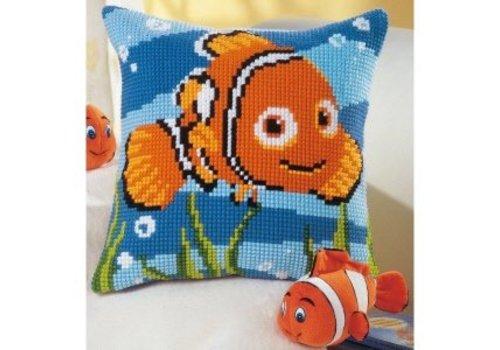 Vervaco Kruissteekkussen kit Disney Nemo