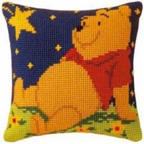 Vervaco Kruissteekkussen kit Disney Winnie the Pooh