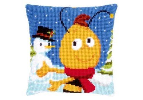Vervaco Maya de Bij: Willy en de sneeuwman