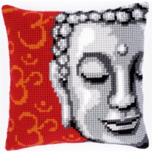 Vervaco Kruissteekkussen kit Boeddha