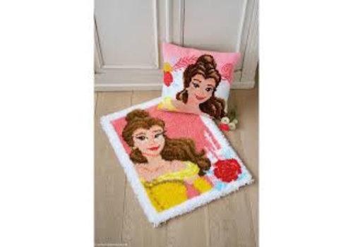 Vervaco Knooptapijt kit Disney Enchanted Beauty