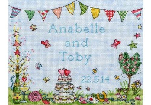 Bothy Threads Samplers - Wedding Celebration - Bothy Threads