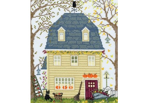 Bothy Threads New England Homes - Fall - Bothy Threads