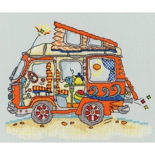 Bothy Threads Sew Dinky - VW Van - Bothy Threads