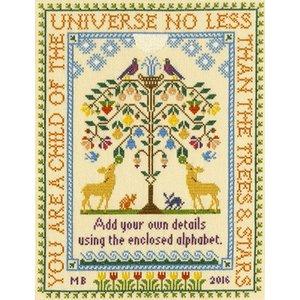 Bothy Threads Moira Blackburn - Tree of Life - Bothy Threads