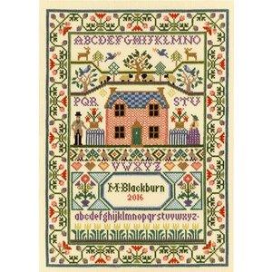 Bothy Threads Moira Blackburn - Country Cottage - Bothy Threads
