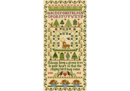 Bothy Threads Moira Blackburn - Green Tree - Bothy Threads