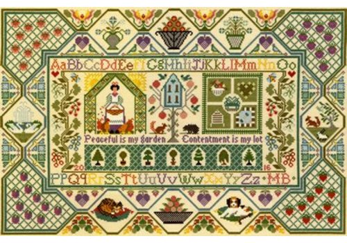 Bothy Threads Moira Blackburn - Peaceful Garden - Bothy Threads