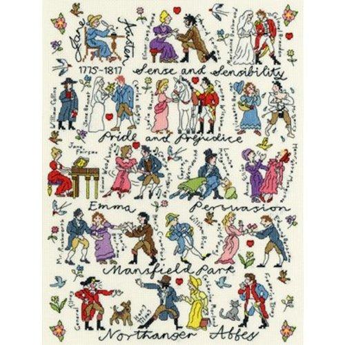 Bothy Threads Historical - Jane Austen - Bothy Threads