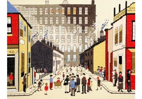 Bothy Threads Lowry - Street Scene - Bothy Threads
