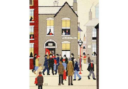 Bothy Threads Lowry - The Arrest - Bothy Threads